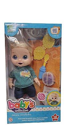 Babys Collection Menino Comidinha 357 Super Toys