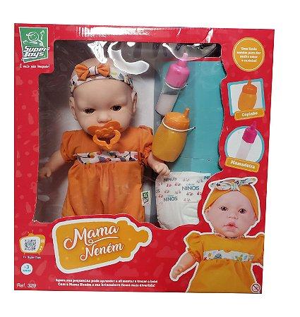Boneca Mama Neném 329 Super Toys