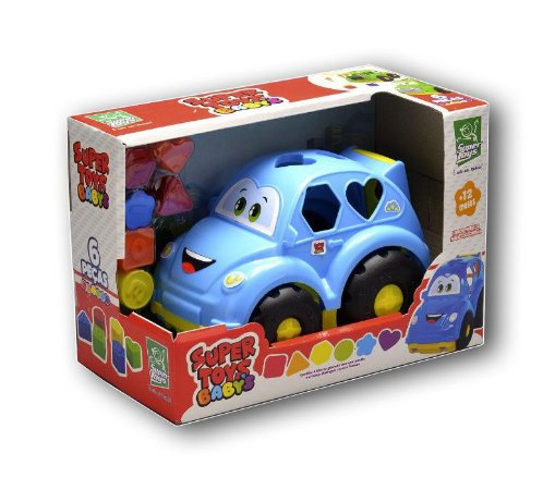 Carrinho Baby Fusca 6 Pçs 387 Super Toys
