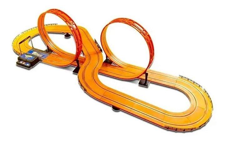 Pista Autorama Com 632cm Hot Wheels Track Set Deluxe Br083