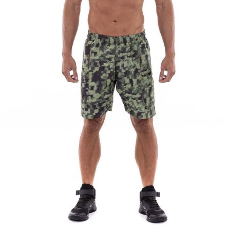 Shorts Workout Camuflado Masculino Everlast
