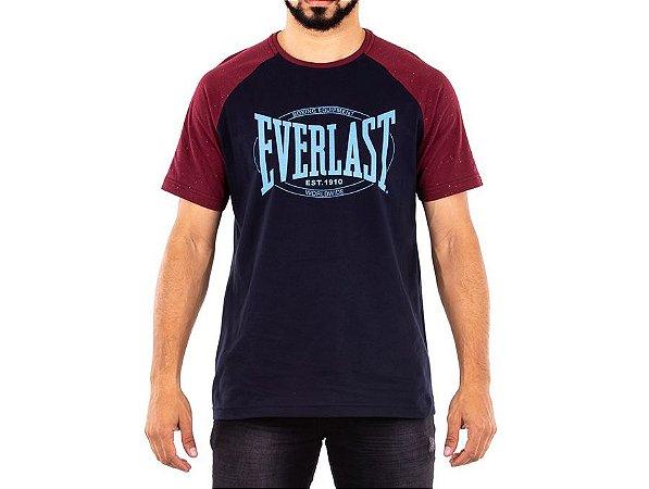 Camiseta Fundamentals c/ Logo Marca Masculino Everlast
