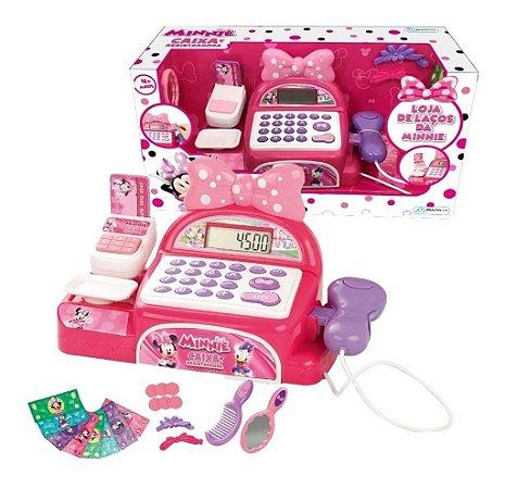 Caixa Registradora Minnie Mouse Br1183 Multikids