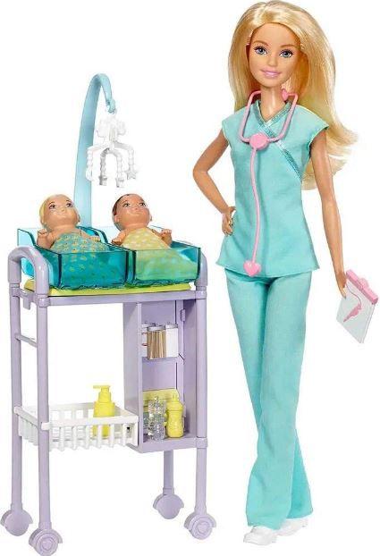 Barbie Pediatra Profissões DVG10 Mattel