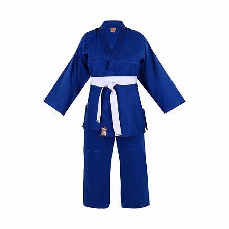 Kimono Adulto Faixa Branca Reforçado Basic Haganah