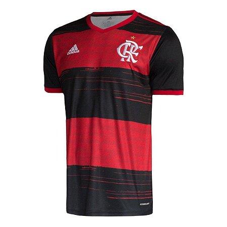 Camisa Flamengo I 20/21 s/n° Torcedor Adidas