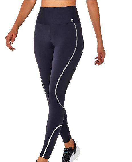 Calça Legging Bodytex Breeze C/ Refletivo Alto Giro