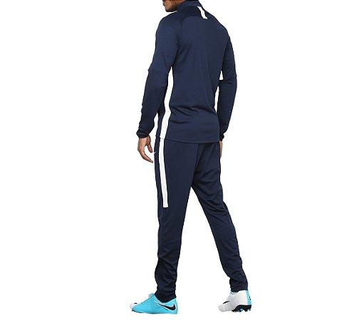 Conjunto Agasalho Academy Trk Suit K2 Masculino Marinho Nike