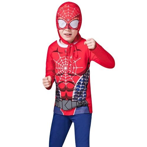 Conjunto Pijama Longo Herói Teen Veggi