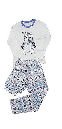 Conjunto Pijama Longo Menina Veggi