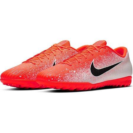 Chuteira Society Mercurial Vapor 12 Academy Nike