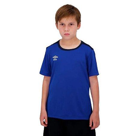 Camiseta TWR Speed New Juvenil Azul Umbro