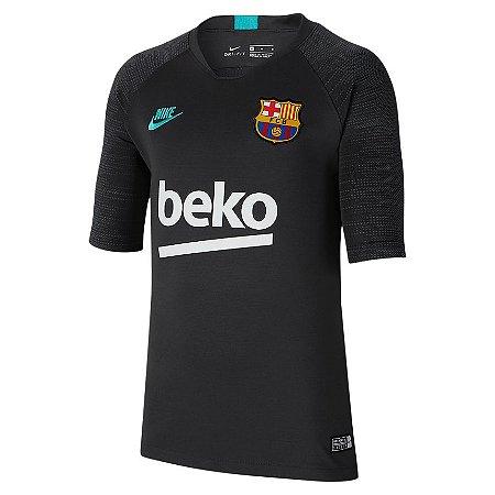 Camiseta Torcedor Nike Barcelona Strike Infantil