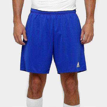 Short Calção Tam G Parma Masculino Azul+Branco Adidas