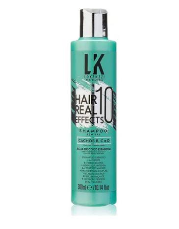 Shampoo 10 Effects Hair Real 300ml - Lokenzzi