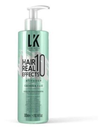 Ativador de cachos Hair  Real Effects 10- Lokenzzi