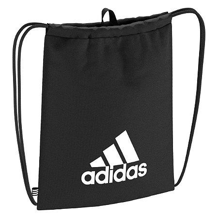 Bolsa Gym Bag Tiro Preto e Branco Adidas