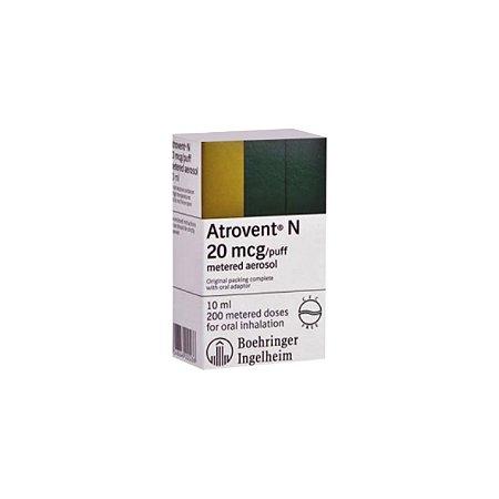 Atrovent N, Dosagem de 0,25mg da Boehringer - Frasco 20ml