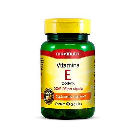 Vitamina E 100% IDR Maxinutri 60 cápsulas 10mcg