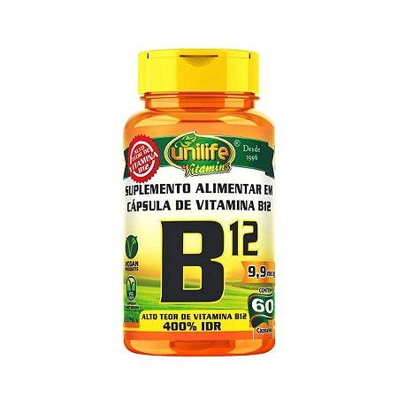 Vitamina B12 Unilife 60 cápsulas