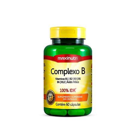 Complexo B 100% IDR Maxinutri 60 cápsulas 250mg