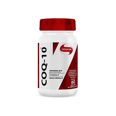 Coenzima Q10 Vitafor 60 cápsulas 500mg