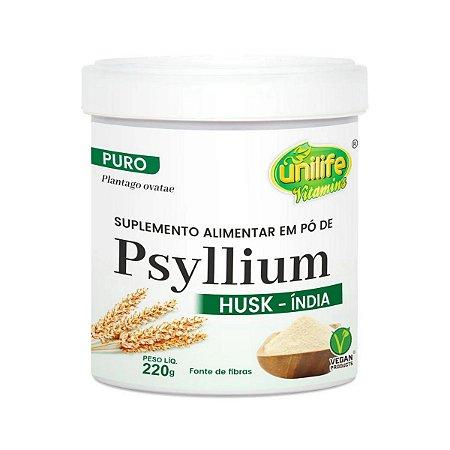 Psyllium em pó Natural Unilife 220g