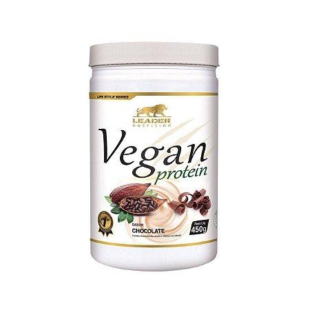 Vegan Protein Chocolate Leader Nutrition 450g