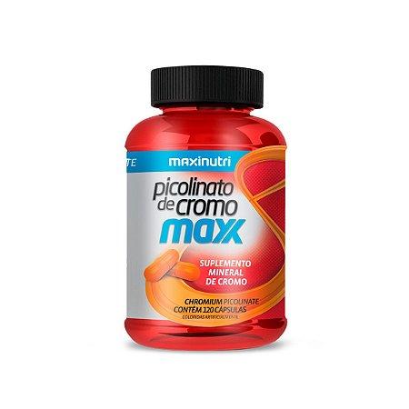 Picolinato de Cromo Maxx Maxinutri 120 cápsulas 35mcg