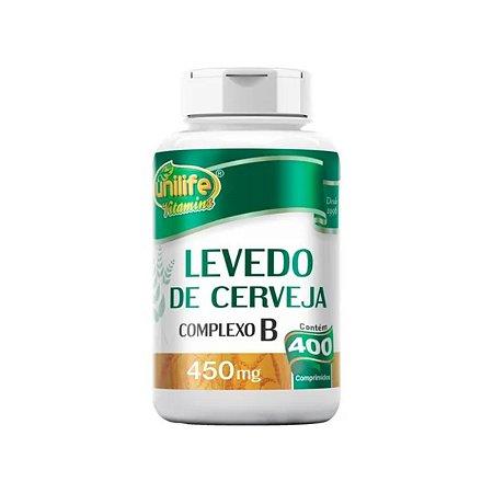 Levedo de Cerveja Unilife 400 comprimidos