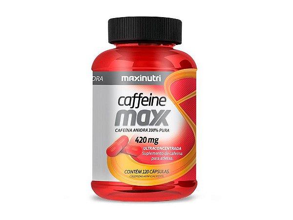 Caffeine Maxx 420mg 120 cápsulas - Maxinutri