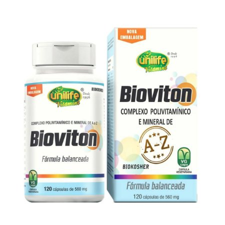 Bioviton Polivitamínico Unilife 120 cápsulas