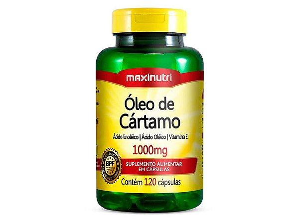 Óleo de Cartamo 120 cápsulas Maxinutri