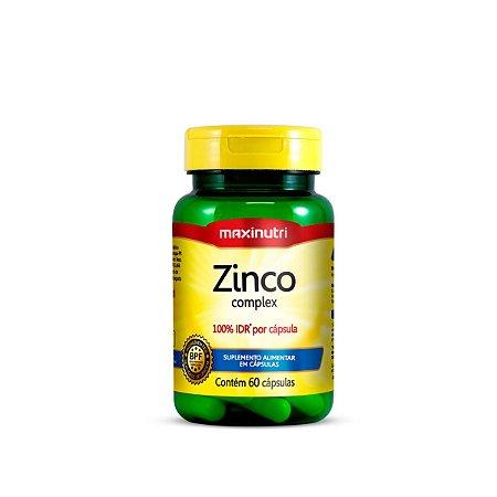 Zinco 100% IDR Maxinutri 60 cápsulas 7mg
