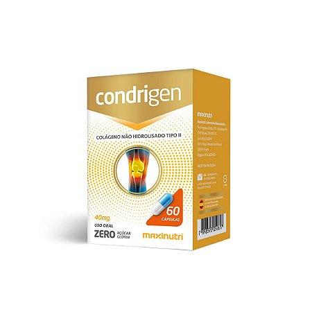 Condrigen Colágeno tipo II Maxinutri 60 cápsulas 250mg