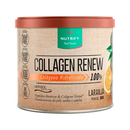 Collagen Renew Laranja Nutrify 300g