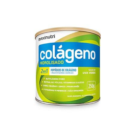 Colágeno 2 em 1 Verisol Sabor Uva Verde Maxinutri 250g