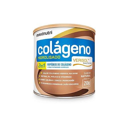 Colágeno 2 em 1 Verisol Sabor Natural Maxinutri 250g