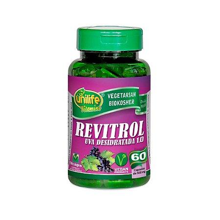 Revitrol Uva Unilife 60 cápsulas 500mg