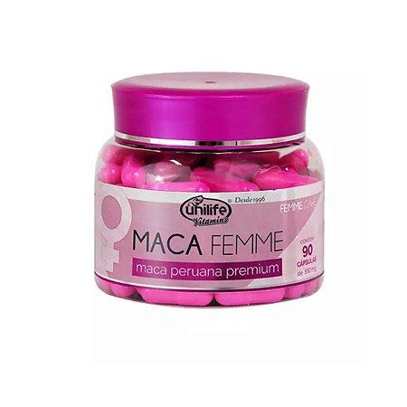 Maca Femme Premium Unilife 90 cápsulas