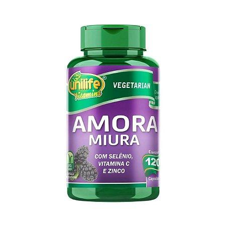 Amora Miúra Unilife 120 cápsulas 500mg