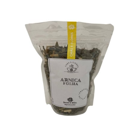 Arnica Folhas - Chás e flores Grano & Vita (ziplock) 60g