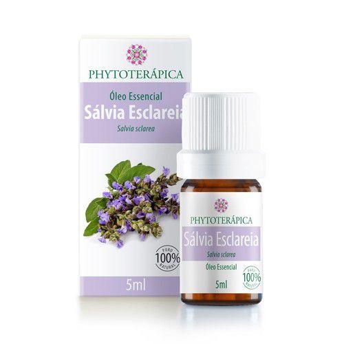Óleo essencial Sálvia Esclaréia Phytoterapica 5ml