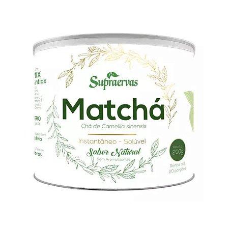 Matchá Limão com Hortelã SupraErvas 200g