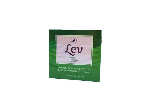 Chá LEV Digest 10 sachês