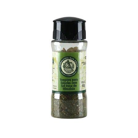 Tempero para Saladas com Sal Rosa do Himalaia - Companhia das ervas 80g