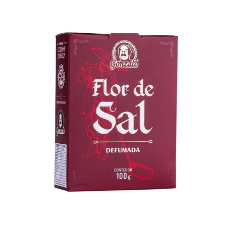 Flor de Sal Defumada Gonzalo 100g