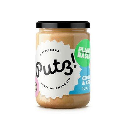 Putz Pasta De Amendoim Vegana Cookies & Cream 600g