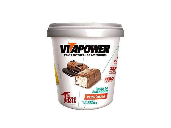 Pasta de amendoim Press Cream Prestígio 1kg Vitapower