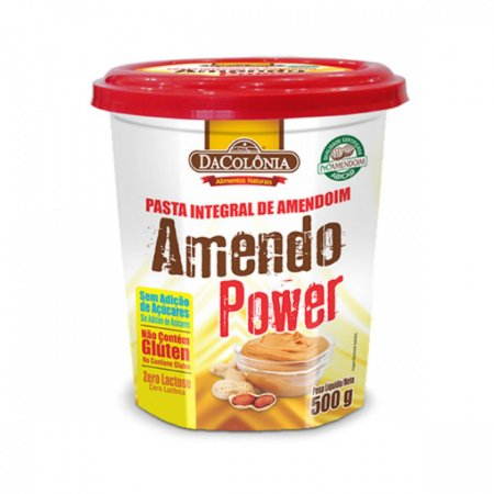 Pasta de Amendoim Integral Tradicional DaColonia 500g